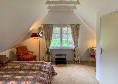 Boswachter slaapkamer boven